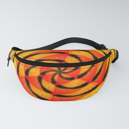 Vibrant tigerlike abstract Fanny Pack