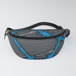 Barbed ELECTRIC BLUE Fanny Pack
