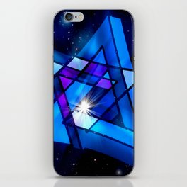 Raumgeometrie. iPhone Skin