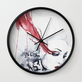 Hurtful Tears Wall Clock