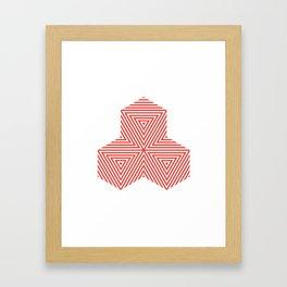 Patterned 5A Framed Art Print