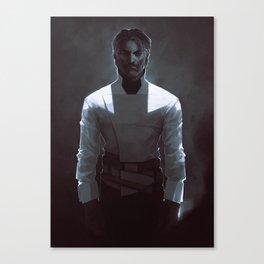 DH: White Shirt Corvo Canvas Print