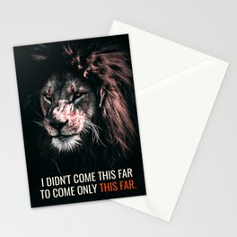 As far as I Can Stationery Cards