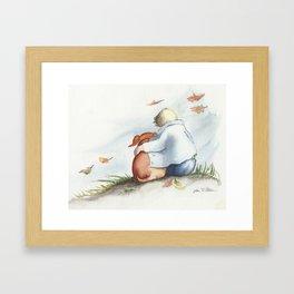 I'LL ALWAYS LOVE YOU! Framed Art Print