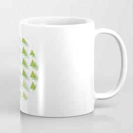 Triangle Jungle Coffee Mug