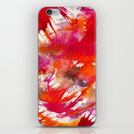 Swooping Abstraction iPhone Skin