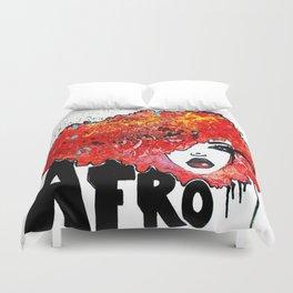 Afro Crush Duvet Cover