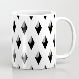Black Studs on White Coffee Mug