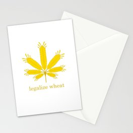 Legalize Wheat Stationery Cards