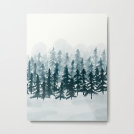 The Forest for the Trees Metal Print