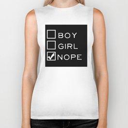 Boy? Girl? Nope! Biker Tank