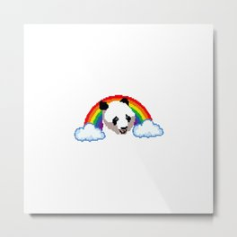 It's a Panda-ful day! Metal Print
