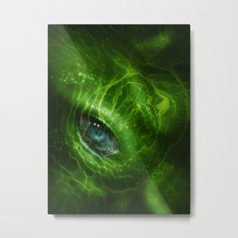 Blue Eye 2_Large Metal Print