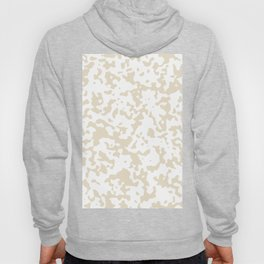 Spots - White and Pearl Brown Hoody