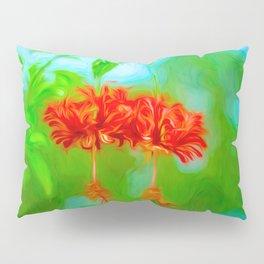 Japanese Lantern Flowers Pillow Sham