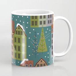 Germany Christmas Houses Coffee Mug