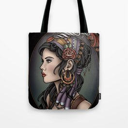Gypsy Profile Tote Bag