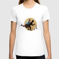 tintin T-shirts featuring tin tin advanture by aleha
