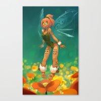 elf Canvas Prints featuring Elf by xaxaxa