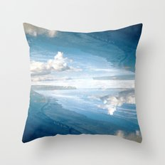 Castles in the Sky Throw Pillow