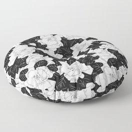Gardenias Floor Pillow