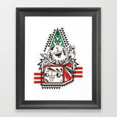 La La La Framed Art Print