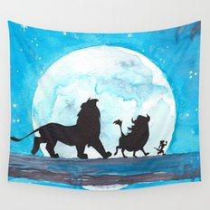 The Lion King Stencil Wall Tapestry