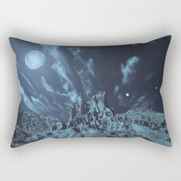 Blue Madness Rectangular Pillow