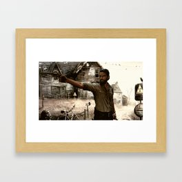 THE SHERIFF Framed Art Print