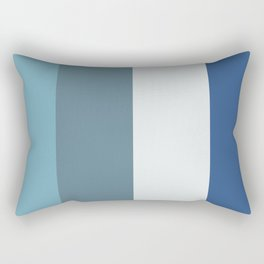 Parable to Behr Blueprint Color of the Year and Accent Colors Vertical Stripes 12 Rectangular Pillow