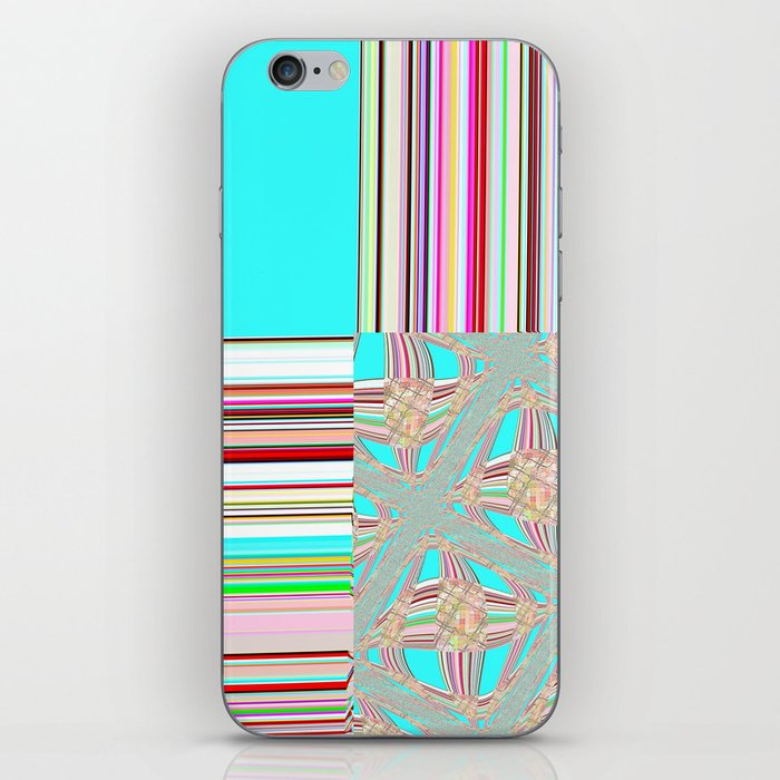Re-Created Southern Cross IV by Robert S. Lee iPhone Skin