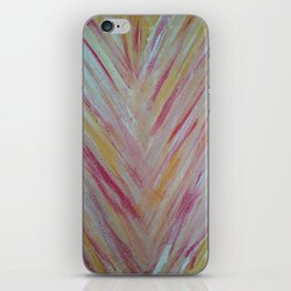 Feather Lines iPhone Skin