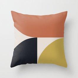 Mid Century Modern Abstract II Throw Pillow