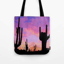 Signs seen in the Desert  Tote Bag