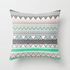 CHEVRON MOTIF Throw Pillow