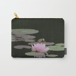 Waterlilly Carry-All Pouch