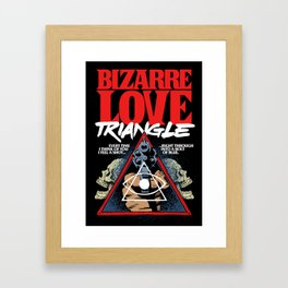 Bizarre Love Framed Art Print
