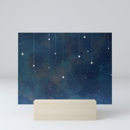 Hanging Stars Mini Art Print