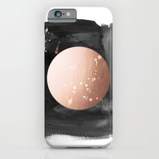 Black night full moon rose gold Slim Case iPhone 6s