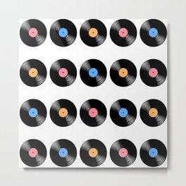 vinyl does it better Metal Print