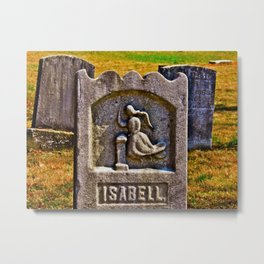 Isabell's Beauty Lingers Metal Print
