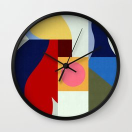Geometric Art XV Wall Clock