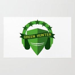 GREEN HUNTER Rug