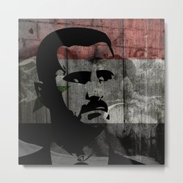 Heads of State: Bashar al-Assad Metal Print