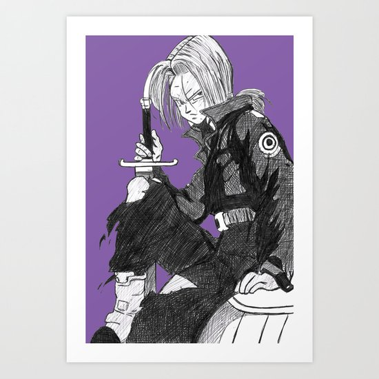 Trunks Art Print