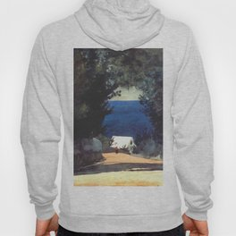 Road In Bermuda Circa 1900 By WinslowHomer | Reproduction Hoody