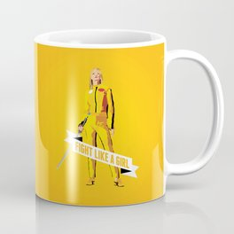 Fight Like a Girl: Beatrix Kiddo Coffee Mug