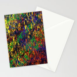 autumn begins in winter Stationery Cards