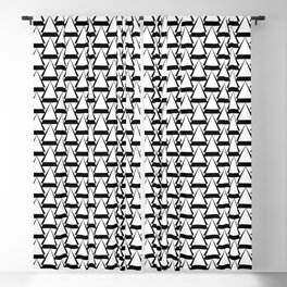 Diamond Pattern Blackout Curtain