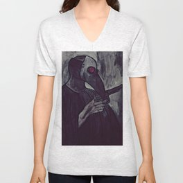 plague test Unisex V-Neck